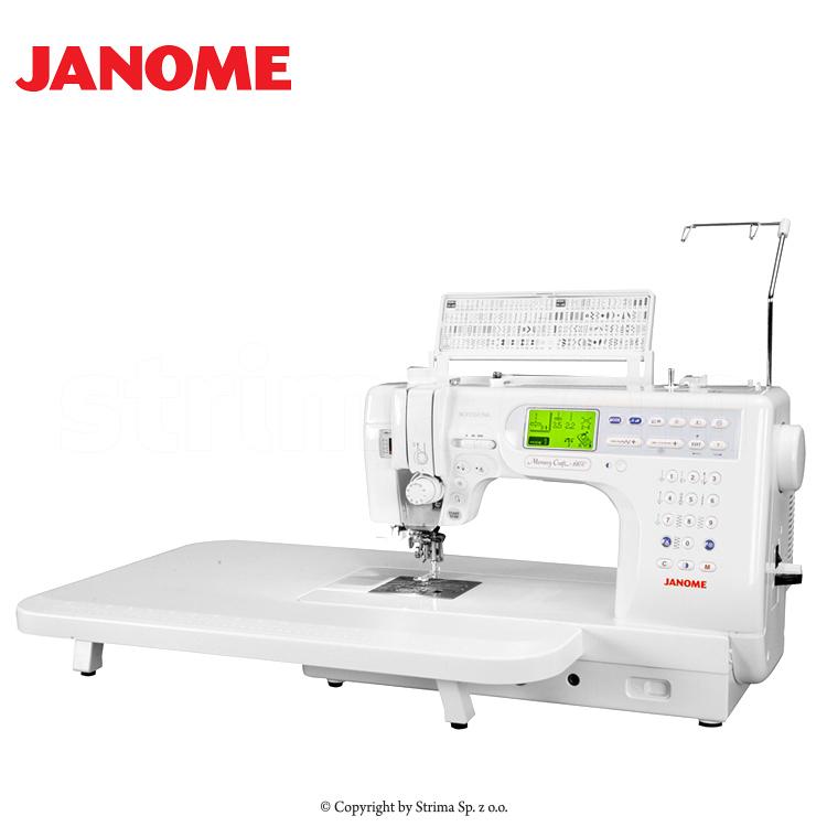 Näh- und Quiltmaschine - JANOME MEMORY CRAFT 6600 PROFESSIONAL