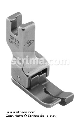 CR10 1,0MM - Compensating foot 1.0mm, right