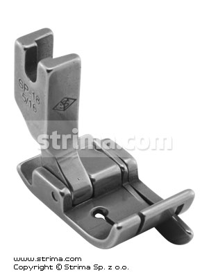 SP18-5/16 - Compensating foot 8.0mm with springing right gauge