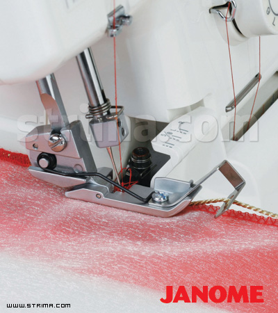 200208109 JANOME - Cording foot for overlock