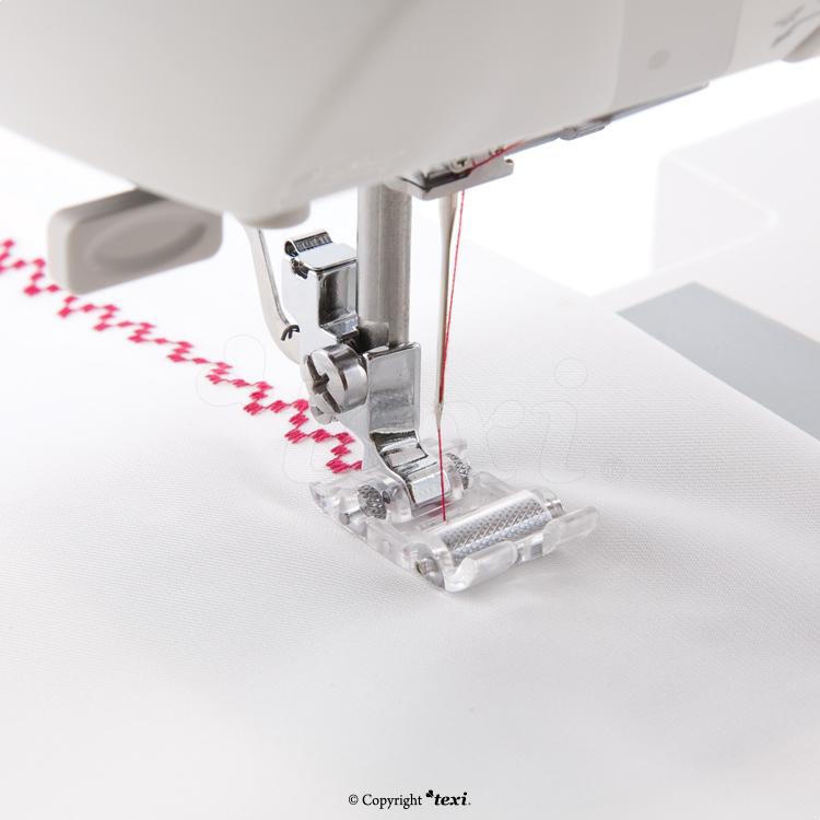 Rollfuß für schwere Stoffe für Haushaltsnähmaschinen - TEXI 0013