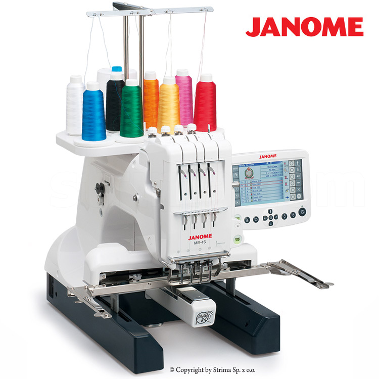 The sew tech for janome embroidery hoop m1 for mb4 measures 240mm x200mm