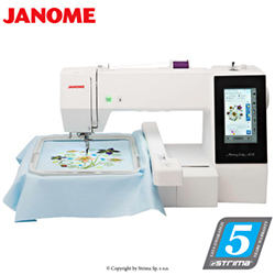 Stickmaschine - JANOME MEMORY CRAFT 500E