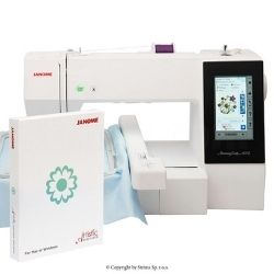 Stickmaschine - JANOME MEMORY CRAFT 500E MBX SET