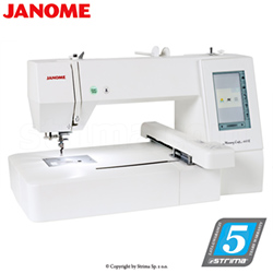 Stickmaschine - JANOME MEMORY CRAFT 400E