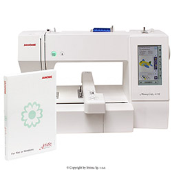 Stickmaschine - JANOME MEMORY CRAFT 400E JR SET