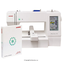 Stickmaschine - JANOME MEMORY CRAFT 400E MBX SET