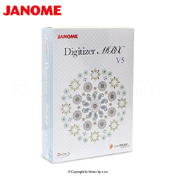 Software for embroidery machine JANOME MB-4 - JANOME DIGITIZER MBX V5