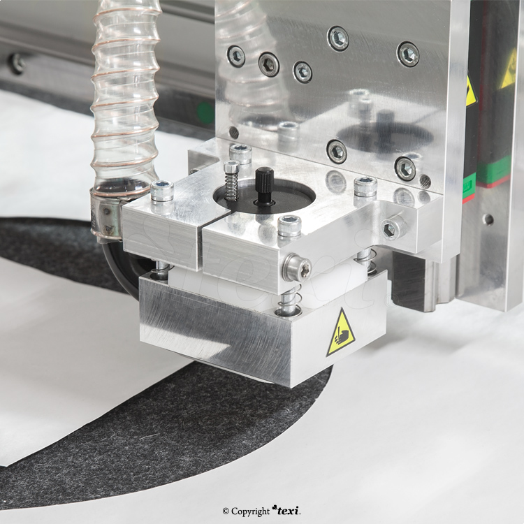 Milling plotter - TEXI MP DRAGGED KNIFE