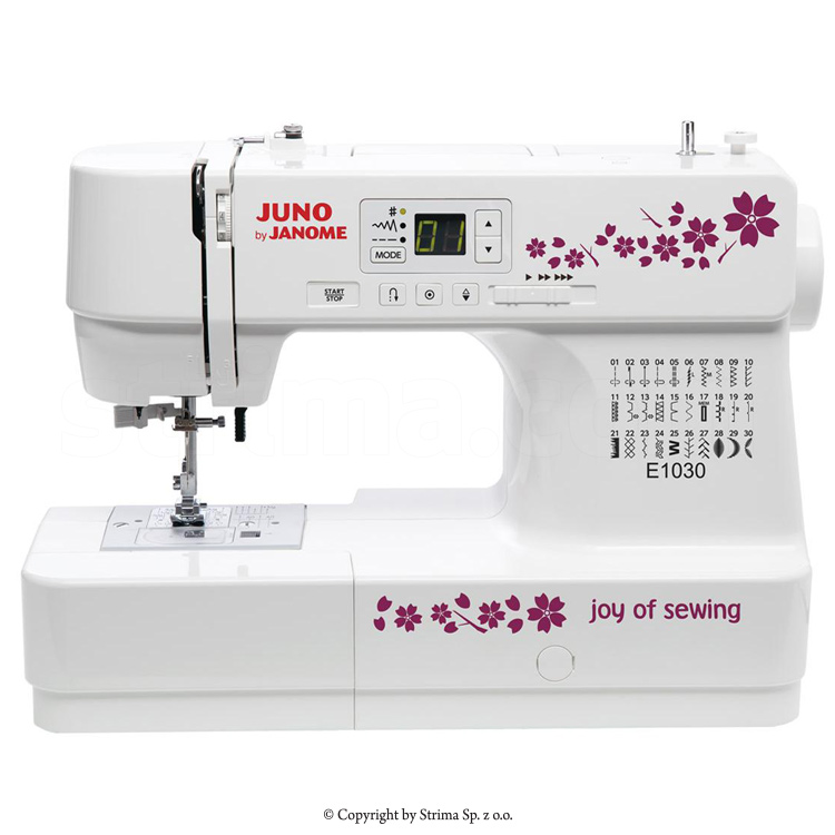 Multifunctional Computer Controlled Sewing Machine With