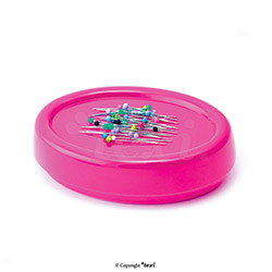 Magnetic pin and needle holder, pink, 300g