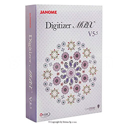 Embroidery design software JANOME DIGITIZER MBX V5,5