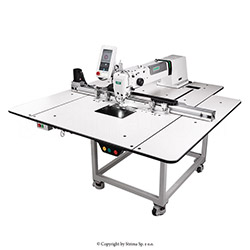 Pattern sewing machine with a working area of 500x800 mm - a complete sewing machine