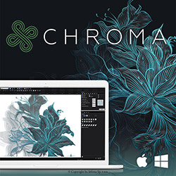 Embroidery software CHROMA inspire