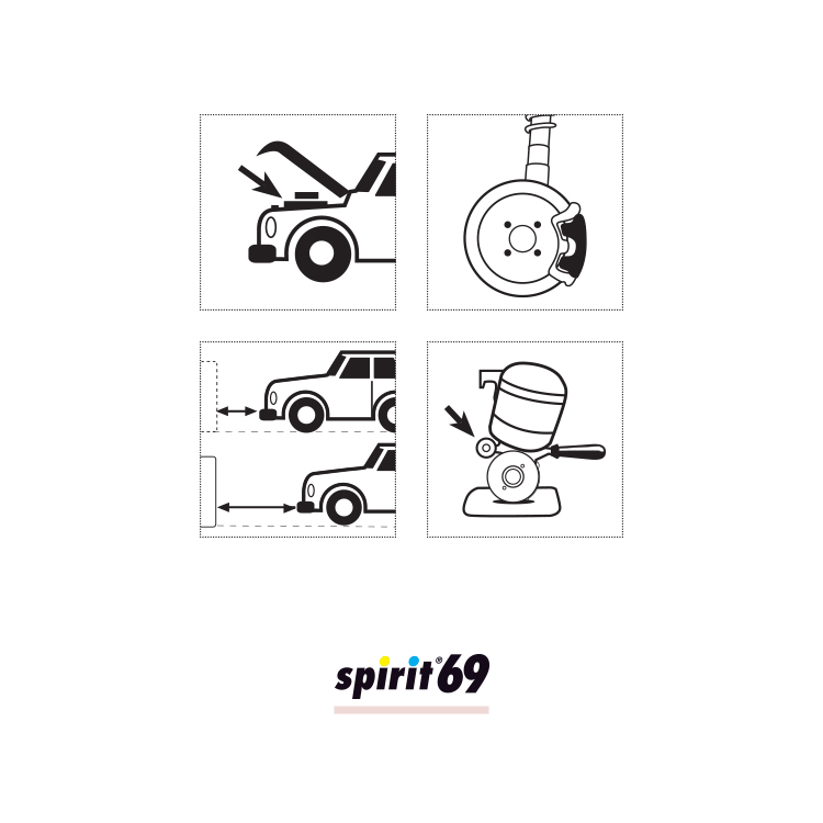 Verdunstender Reiniger - SPIRIT 69 - spray 400 ml