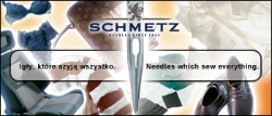 SCHMETZ sewing machine Nadel G06, 1box = 100 Nadeln